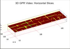 3D Ground Penetrating Radar Model